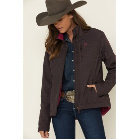 Cinch Women's Brown Concealed Carry Print Bond Jacket For Work - Women's Jackets  business casual KBC705573