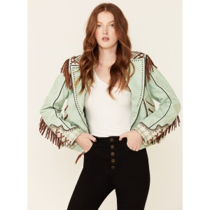 Double D Ranch Women's Sage Yippie Ki Yay Jacket Go Outdoors - Women's Jackets  Number 1 Selling IFASU2915