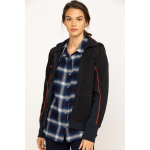 Dovetail Workwear Women's Double Layer Zip Hoodie Go Outdoors - Women's Jackets  Clearance Sale 6E2M6558