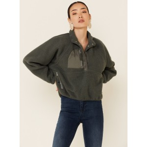 Free People Women's Hit The Slopes Pullover Lightweight - Women's Jackets  BCEA09031
