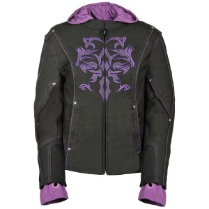Milwaukee Leather Women's 3/4 Jacket With Reflective Tribal Decal - 5X Go Outdoors - Women's Jackets  outfits OV9XN5849