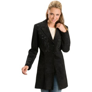 Scully Women's Embroidered Coat Lightweight - Women's Jackets  new look TITS2678