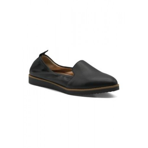 Adrienne Vittadini Pointy Toe Casual Shoes BLACK-SM Comfortable - Women's Flats Top Sale GUYT275