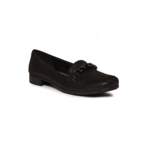Anne Klein Valisity Moccasin Flats BLACK FABRIC Everyday - Women's Flats BCDH547