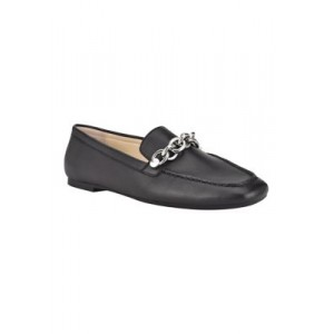 Calvin Klein Elanna Loafers Black Leather - Women's Flats The Most Popular USMD162