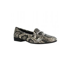 Impo Baylis Stretch Loafers Taupe Multi Comfortable - Women's Flats Cut Off BOQM733