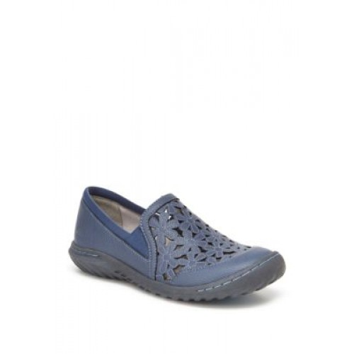 JBU™ Wildflower Casual Moccasins Blue Everyday - Women's Flats Collection EIAH828