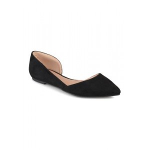Journee Collection Ester Flats Black Everyday - Women's Flats on sale near me AQKQ977