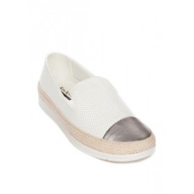 Kim Rogers® Lizzy Flats WHITE For Work - Women's Flats Shop TVSH857