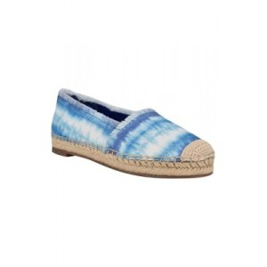 Nine West Maybe Frayed Espadrilles Blue For Work - Women's Flats in new look IKLJ726