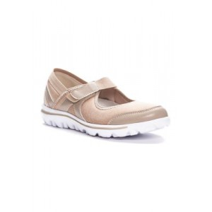Propét Onalee Sneakers Beige Everyday - Women's Flats Clearance EQVH252