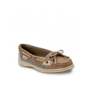 Sperry® Angelfish Boat Shoe Linen For Work - Women's Flats 2021 New SQUB477