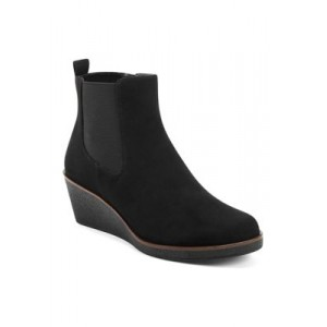 AEROSOLES® Brandi Ankle Boots Black Extra Wide - Women's Boots fashion guide CHJF853