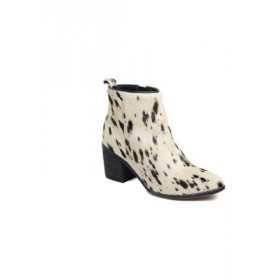 Band of Gypsies Rodeo Ankle Boot Spotted Off-White Size 11 - Women's Boots Near Me FNFR394