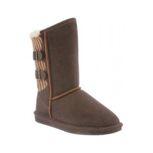 Bearpaw Boshie Boots Chestnut Size 12 Wide - Women's Boots JEGH378