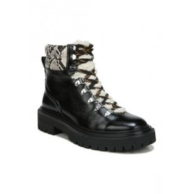 Circus by Sam Edelman Flora Cold Weather Snake Print Hiker Boots BLACK MULTI/SNKPRT - Women's Boots MMUD498