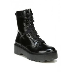 Circus by Sam Edelman Sanders Lug Sole Combat Boots BLACK Wide - Women's Boots cool designs UABT130