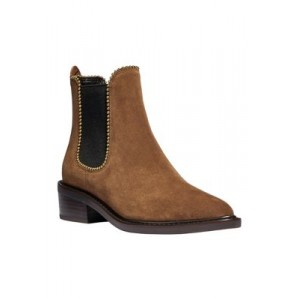 COACH Bowery Chelsea Booties UMBER - Women's Boots ODRH345