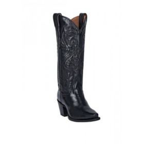 DAN POST® Maria Leather Boots Black - Women's Boots on clearance DQMH339