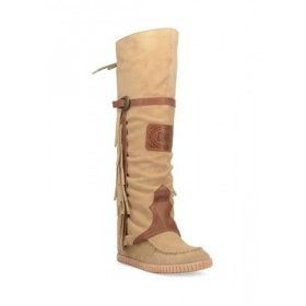 Dingo Caddo Leather Boots Natural Size 2 - Women's Boots SELP400