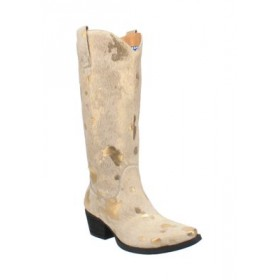 Dingo Giddy Up Boots Gold - Women's Boots cool designs YUKD519