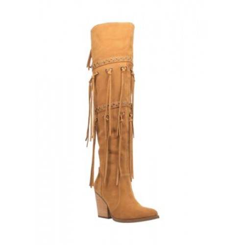 Dingo Witchy Woman Boots Camel Size 5 - Women's Boots most comfortable QIUE784
