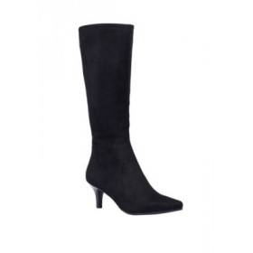 Impo Noland Stretch Knee Boots Black - Women's Boots Clearance TCOV991