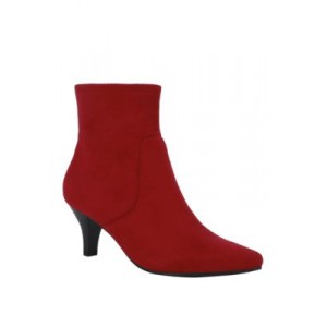 Impo Noria Stretch Dress Ankle Boots Scarlet Red Size 10 - Women's Boots 2021 New IGVG917