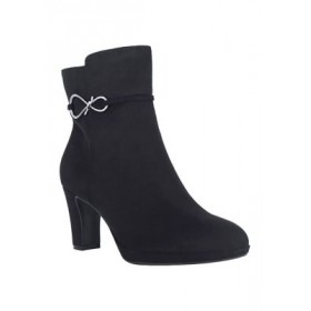 Impo Vince Stretch Booties Black - Women's Boots new in MEZV910