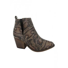 Jellypop Sophisticate Booties BROWN MULTI NF Extra Wide - Women's Boots online shopping UBHL312