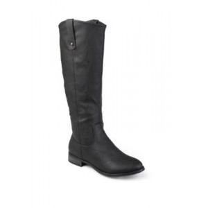 Journee Collection Extra Wide Calf Taven Boots Black Extra Wide Calf Winter - Women's Boots Cost UTMV538