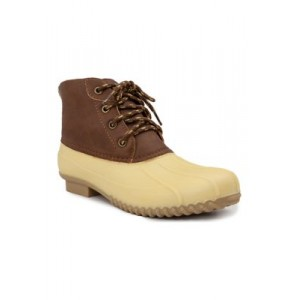 London Fog® Winley Cold Weather Boots Pastel Yellow/Cognac Size 12 Wide - Women's Boots fashion guide GPPW752
