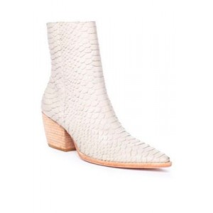 Matisse Caty Pointed Toe Boots White Flat - Women's Boots for sale near me MZJY913