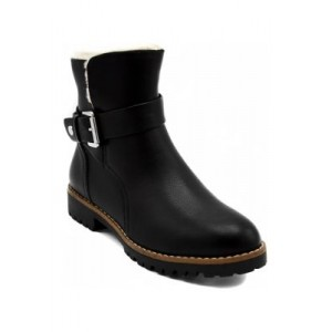 Nautica Ensign Ankle Boots BLACK Size 2 - Women's Boots UERY626