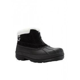 Propét Lumi Ankle Zip Boot - Available in Extended Sizes & Widths Black/white Size 12 - Women's Boots e fashion JVOG421