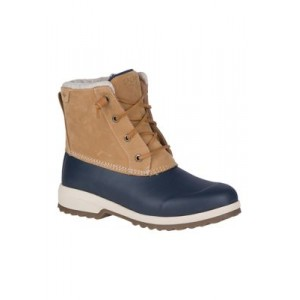 Sperry® Maritime Repel Boots TAN/NAVY Size 12 Wide - Women's Boots 2021 Trends NKVY889