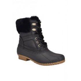 Tommy Hilfiger Reisen Duck Boots BLKSY Work - Women's Boots Selling Well EYBY985