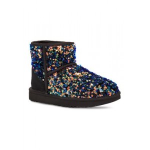 UGG® Classic Mini Stellar Boots BLK - Women's Boots in style QSIY938