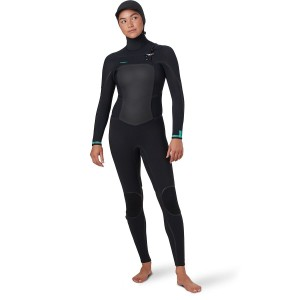 O'Neill Zip Full Wetsuit - Women's Psycho Tech 5.5/4mm Hooded Chest Flattering Fit sale next #ONE01BW
