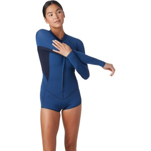 O'Neill Zip Long-Sleeve Surf Suit - Women's Bahia 2/1 Front Large Sizes stores #ONEG31J