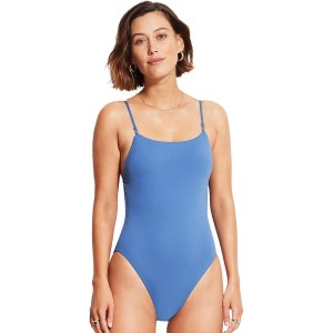 Seafolly Piece Swimsuit - Women's Square Neck Maillot One For Curvy shop online