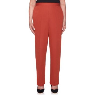 Alfred Dunner Autumn in New York Petite Proportioned Medium Pants Russet - Women's Pants KIUI252