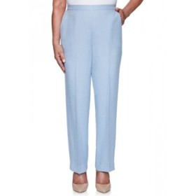 Alfred Dunner Women's French Bistro Proportioned Short Pants Frost Blue - Women's Pants XIXT481