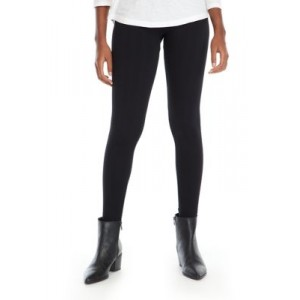 New Directions® Women's Studio Cable Leggings True Black Casual - Women's Pants on clearance CXNO879