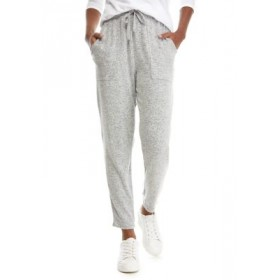 Sharagano Women's Hacci Pull On Pants Lt Grey Heather - Women's Pants New Arrival MSLH716