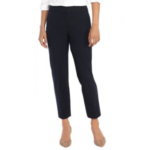 THE LIMITED Women's Signature Ankle Pants in Modern Stretch Navy - Women's Pants in style QYJN529