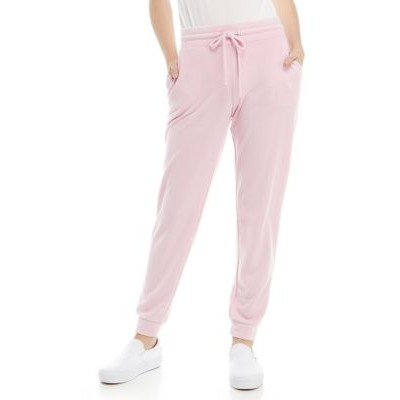 Crown & Ivy™ Women's Solid Joggers Pink Lolly - Women's Loungewear comfortable POMX637