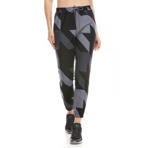 THE LIMITED LIMITLESS Women's Houndstooth Tie Waist Kit Jogger Pants Black Houndstooth Elderly - Women's Loungewear  In Sale RLAY962