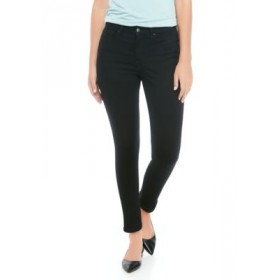 THE LIMITED Women's High Rise Skinny Ankle Jeans Saturated Black - Women's Jeans on clearance FTPG782