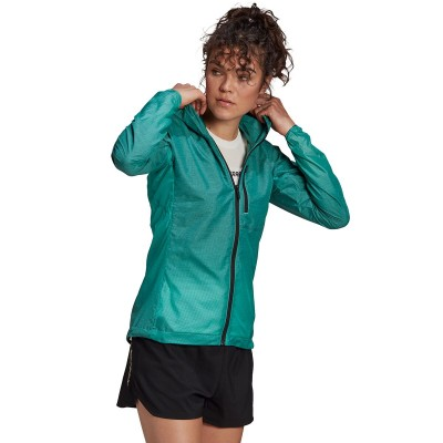 Adidas Outdoor Women's Agravic Windweave Jacket Size 20 Clearance Sale #ADAZ02V
